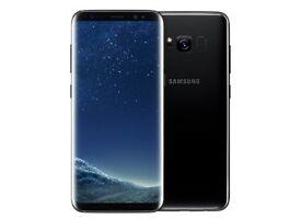NEW Samsung Galaxy S 8 PLUS Midnight Black 4G 64GB LTE *Unwanted Upgrade* NEW