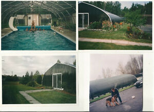 Spa et piscine dans abitibi t miscamingue maison for Dome piscine
