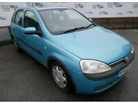 2002 Vauxhall Corsa 1.2 Full Mot Low Miles. CHEAP RUNNER.