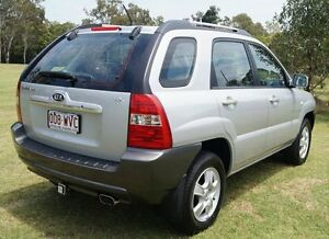 2007 Kia Sportage KM2 LX Silver 5 Speed Manual Wagon Bundaberg West Bundaberg City Preview