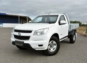 2014 Holden Colorado RG MY14 LX 4x2 White 6 Speed Manual Cab Chassis Ingle Farm Salisbury Area Preview