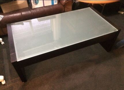 Glass top coffee table  Albany Creek Brisbane North East Preview