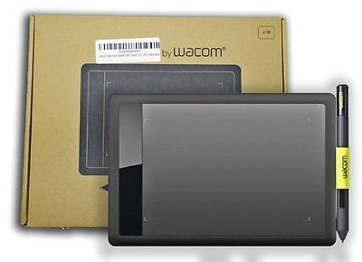 One by Wacom Bamboo Splash Tablet CTL471 Drawing Small Pen for Windows Mac New