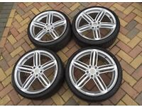 BRAND NEW AUDI ALLOYS 18 and 19 INCH. *Tyres available*