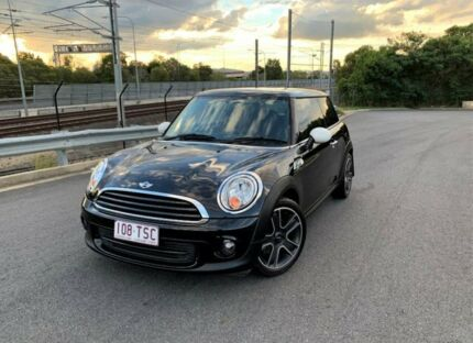2012 Mini Hatch R56 LCI Cooper Black 6 Speed Manual Hatchback Darra Brisbane South West Preview