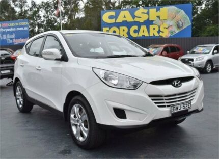 2011 Hyundai ix35 LM MY11 Active White Manual Wagon Campbelltown Campbelltown Area Preview