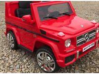 Mercedes G-Wagon G65, Lights, Music , Parental Remote & Self Drive Ride-On