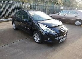 2012 PEUGEOT 207 ACTIVE 1.4 PETROL SALVAGE DAMAGED REPAIRABLE/ 1 OWNER/ ***LOW MILEAGE***