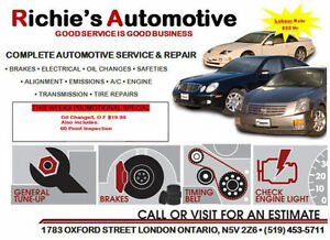 GET YOUR VEHICLE SAFETIED/CERTIFIED FOR JUST $60!! London Ontario image 2