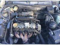 VAUXHALL CALIBRA 1994 PETROL ENGINE ALL GOOD NEEDS BATTERY SPARES AND REPAIR