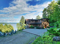 Beautiful Lakefront Home Close to Owl's Head = MUST SEE