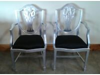 Chairs x 2
