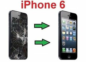 $55* Special iPhone 6, LCD Screen Glass Broken Repair Brampton