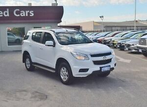 2015 Holden Colorado 7 RG MY15 LT White 6 Speed Sports Automatic Wagon Bayswater Bayswater Area Preview