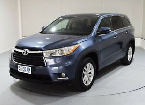 2015 Toyota Kluger GSU50R GX 2WD Blue 6 Speed Sports Automatic Wagon Kings Meadows Launceston Area Preview