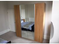 IKEA wardrobe with mirror
