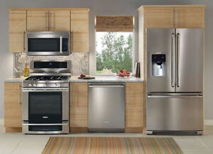 Looking for Stainless Steel Fridge Stove Dishwasher, ETC