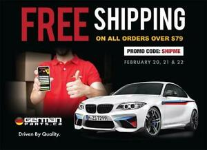 OEM Parts for all European Vehicles - FREE Shipping Promo Code - GermanParts.ca