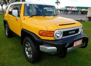 2011 Toyota FJ Cruiser GSJ15R Yellow 5 Speed Automatic Wagon Hidden Valley Darwin City Preview