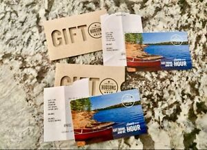 Good deal on Hudson's Giftcards