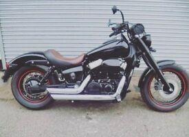 HONDA SHADOW BLACK SPIRIT 750 2011