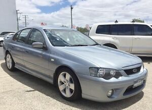 2007 Ford Falcon BF Mk II XR6 MKii Grey 4 Speed Auto Active Select Sedan Underwood Logan Area Preview