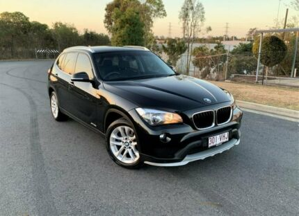 2014 BMW X1 E84 LCI MY1113 sDrive18d Steptronic Black 8 Speed Sports Automatic Wagon Darra Brisbane South West Preview