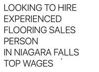 FLOORING sales counter person
