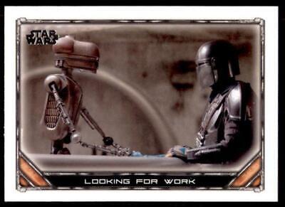 2020 Star Wars The Mandalorian Season 1 Base #56 Looking for Work