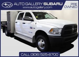 2012 Ram 3500 DECK TRUCK W/ UPRIGHT TOOL BOX'S | FULLY EQUIPED |