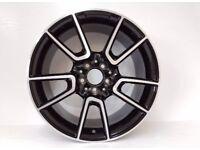 C43 amg Mercedes alloys 18 inch c220 sport cla a class b wheels