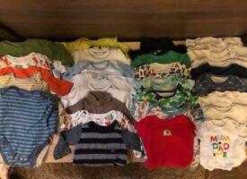Baby boys jumpsuit bundle 29 pieces