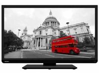 "Toshiba TV 32"" HIGH DEFINITION SLIM, SMART LED BUILT-IN WI-FI & FREE VIEW £170"