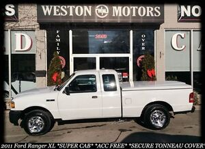 2011 Ford Ranger XL*SUPER CAB*ACC FREE*BUY HERE-PAY HERE!