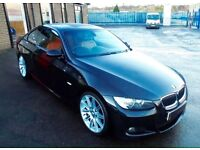 bmw 325i 3 series coupe m sport auto paddle shift sat nav leather