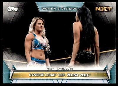 2018 Topps WWE Women/'s Division Sammelkarte #49 Trish Status