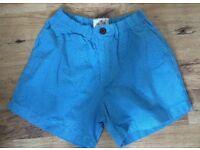 2 x Hollister mens blue shorts XS As NEW