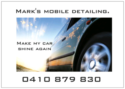 Best Priced Car Cleaning And Detailing from $35 Full Vac and Wash