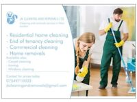 Commercial and residential cleaning offered. West London and Heathrow area
