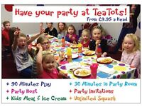 Kids Parties in Romford, Essex - Soft Play, Face Painting, Magic Show, Mascots, Disco & Karaoke