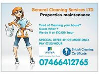 General cleaning services LTD