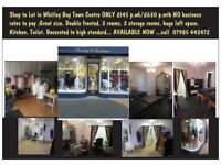 Great size shop to rent Whitley Bay Town Centre
