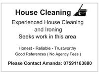 CLEANING/IRONING SERVISES IN YOUR AREA