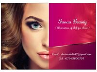 FANAA BEAUTY I DO EYE BROWS THREADING, EYELASHES AND TINTING FULLY MOBILE