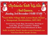 Indoor Table Top Sale Sat 28 October 930-1230 - MORE Events TO BE BE Held Please See Photos.