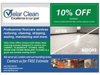 Velar Clean, Ltd. - Professional Floor Cleaning, Restoration and Maintenance Services