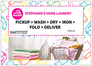 STEPHANIE'S HOME LAUNDRY Hampton Park Casey Area Preview
