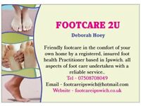Footcare 2U fungal nail treatment. LACUNA METHOD