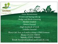 Envision Garden Care, Grass Cutting, Hedge Trimming, Landscaping and Garden services