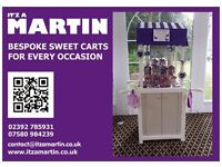 Sweet Stands, coordinated to your event, your choice of sweets. Treat your guests to a SWEET treat!